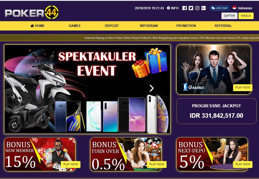 Situs poker44